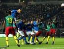 """Neymar chấn thương, Brazil vẫn khuất phục """"Sư tử"""" Cameroon"""