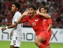 Hạ Timor Leste 6-1, Singapore chờ quyết đấu Thái Lan ở lượt cuối