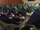 Trường ĐH bố trí khu nghỉ trưa máy lạnh và võng cho sinh viên