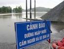 Mưa lớn gây chia cắt quốc lộ 1, ngập cục bộ nhiều địa phương