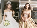 Tiết lộ váy cưới của Hoa hậu Đại dương Đặng Thu Thảo