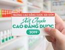 Tuyển sinh Cao đẳng Dược Sài Gòn hệ chính quy năm 2019