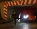 Hà Nội: Nhiều hầm chui tối đen vì đèn hỏng