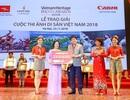 Vietjet đồng hành và trao giải 'Sky Prize' cuộc thi ảnh Cuộc thi ảnh Di sản Việt Nam 2018