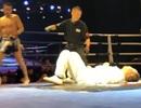 Cao thủ võ lâm Trung Quốc bị võ sĩ nghiệp dư hạ gục... sau 5 giây