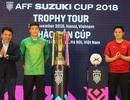 Bùi Tiến Dũng, Hà Đức Chinh chia sẻ cảm xúc bên chiếc cúp vàng AFF Cup