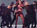 Cheryl diện trang phục xuyên thấu bốc lửa