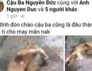 """Thanh niên Hà Tĩnh lại """"khoe"""" ảnh giết khỉ trên mạng xã hội"""
