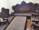 Bộ bàn ghế gỗ trắc nặng 8 tạ, đại gia trả 3,2 tỷ đồng chủ nhân vẫn chưa bán