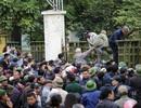 Người dân vượt rào vào trụ sở VFF, đòi mua vé xem chung kết AFF Cup