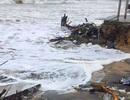 Mưa lớn, thêm nhiều đoạn sông, biển sạt lở nặng