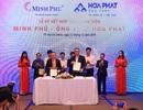 """Hòa Phát bắt tay cung cấp sản phẩm cho các dự án của """"Vua tôm"""" Minh Phú"""