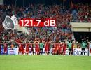 CĐV Việt Nam tạo cường độ âm thanh lớn nhất ở AFF Cup 2018