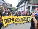 CĐV Malaysia diễu hành trước trận chung kết lượt về AFF Cup 2018