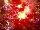 CĐV Việt Nam đốt pháo sáng ăn mừng trước SVĐ Mỹ Đình