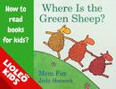"""Tiếng Anh trẻ em: Cùng đọc câu chuyện """"vạn trẻ mê"""" Where is the green sheep?"""