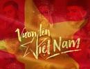 """Dàn sao ở Việt Nam - Hàn Quốc cùng cổ vũ """"Việt Nam vô địch"""""""