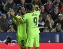 Messi lập hattrick, Barcelona vững ngôi đầu bảng La Liga