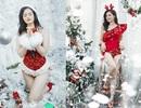 Nữ MC Hà thành đa tài tung bộ ảnh nóng bỏng đón Giáng sinh