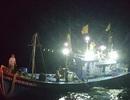 Cứu 8 người gặp nạn giữa mưa giông trên biển