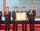 Huyện Kim Bảng được công nhận huyện đạt chuẩn nông thôn mới