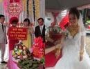 """Đám cưới """"khủng"""": Cô dâu được tặng 10 tỷ đồng, đeo vàng trĩu cổ trong ngày vui"""