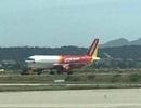 Máy bay trục trặc kỹ thuật và hạ cánh nhầm đường băng tại Cam Ranh