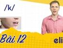 Học tiếng Anh: 10 phút phân biệt âm /k/ và /g/ nhanh chóng, hiệu quả