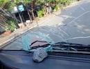 Điều tra một số đối tượng ném đá vào ô tô trên đường