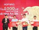 """""""Chất"""" như Bia Sài Gòn, đưa 1000 người lao động có thành tích về Tết bằng chuyên cơ"""