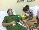Chiến sĩ công an kịp thời hiến máu cứu bệnh nhân qua cơn nguy kịch