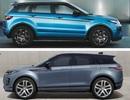 So sánh Range Rover Evoque thế hệ mới và cũ