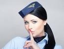 Món đồ bí mật luôn được tiếp viên hàng không giấu sau lưng khi chào đón khách