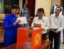 TPHCM: Kết quả lấy phiếu tín nhiệm 30 cán bộ chủ chốt