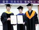 Chủ tịch Quốc hội được trao bằng Tiến sĩ danh dự tại Hàn Quốc