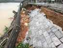 Bờ kè trước di tích Thành cổ Quảng Trị đổ sập, sạt lở nghiêm trọng