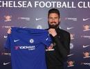 Olivier Giroud rạng rỡ ra mắt Chelsea