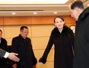 Cử chỉ trong phòng VIP hé lộ sự quyền lực của em gái ông Kim Jong-un