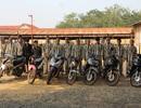 Triệt phá băng trộm cắp xe máy đưa sang Campuchia tiêu thụ