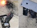 """iPhone phát nổ """"như bom"""" tại hiệu làm tóc giữa Hà Nội"""