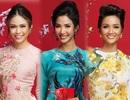 Hoa hậu H'hen Niê, Á hậu Hoàng Thùy, Mâu Thủy chúc xuân Mậu Tuất sớm đến khán giả