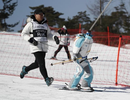 """Xem robot trượt tuyết """"tấu hài"""" ở thế vận hội Mùa Đông Pyeongchang"""