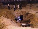 Tai nạn hi hữu đêm giao thừa, người đàn ông tử vong dưới hố