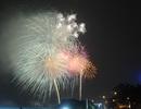 Mãn nhãn với màn pháo hoa mừng năm mới rực rỡ trên bầu trời Sài Gòn