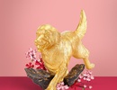 Tinh xảo đường nét Á Đông trong bộ sưu tập linh khuyển mạ vàng
