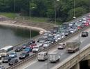 Hà Nội cấm xe container đường Vành đai 3 trên cao dịp Tết Nguyên đán