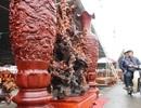 """Chiêm ngưỡng gỗ lũa """"siêu khủng"""" tạc 18 vị La Hán của đại gia Hải Dương"""