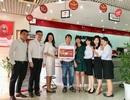 Maritime Bank trao 4 cây vàng cùng hàng nghìn quà tặng cho các khách hàng may mắn
