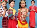 """Dàn mẫu nhí """"chất lừ"""" với trang phục truyền thống các quốc gia"""