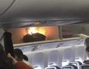 Trung Quốc: Máy bay chậm chuyến vì sạc dự phòng cháy ngùn ngụt
